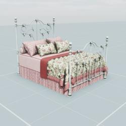 Antique Bed 5.4