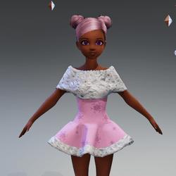CuteWinterDoll-pink