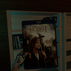hobbit an unexpected journey bluray case