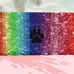 WolfenKind Rainbow Painting V4