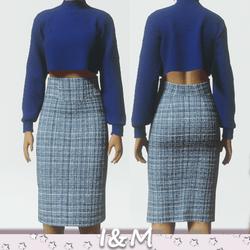 wool pencil skirt 5