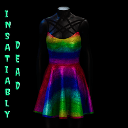 Magica Skater Dress [RAINBOW]