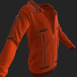 SHUAN JACKET EMISSIVE ORANGE
