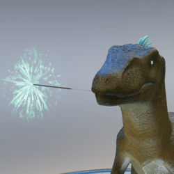 RaptorFit Teal Sparkler