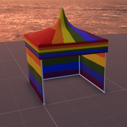 Tent/MarketStall/Gazebo (Pride)