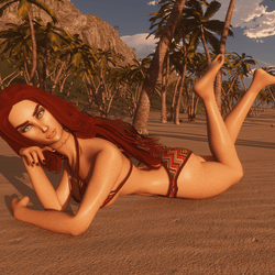 Beach Pose 05