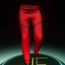 Net-Pants Red