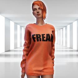 ✿ Freak Sweater Mini Dress ✿