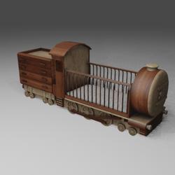 Cradle On Train