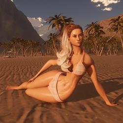 Beach Pose 02