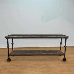 Reclaimed Wood Large Console