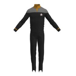 Star Trek DS9 Replica for roleplay YELLOW