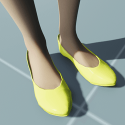 Stylish Classic High Heel Shoes YELLOW