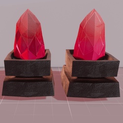 MMO Lava Crystals