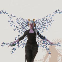 Butterflies scene decor (for snapshots)