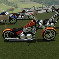Orange Bike Attachment