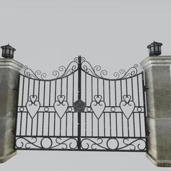 Iron-Stone Gate