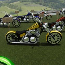 Yellow Bike Attachment