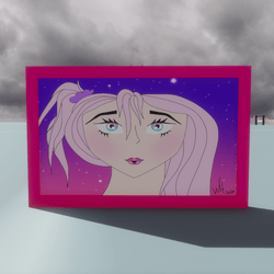 Celestial Princess Painting