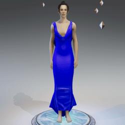 Elegant Dress BLUE