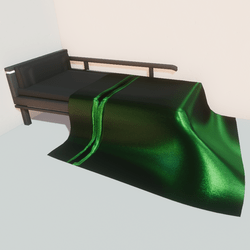 Modern bed - grn