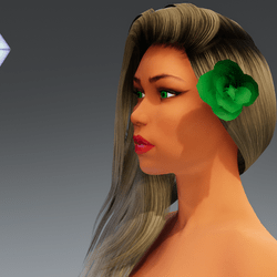 Rose for Hair #9