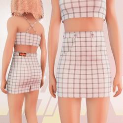 White Iconic Skirt