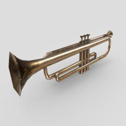 Trumpet deco (Low triangles)