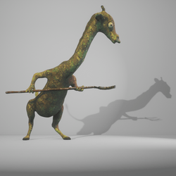 Combat giraffe