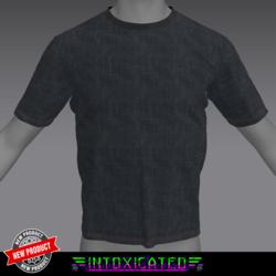 [INTOXICATED] mens Fresh Black T shirt