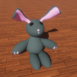 Valentine The Bunny Doll