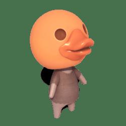 Duck Villager - Orange
