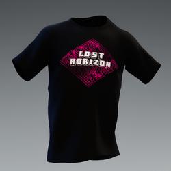 Unisex Lost Horizons Pink Logo Tee