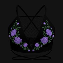 Taradelle Rose Blouse (Lilac)