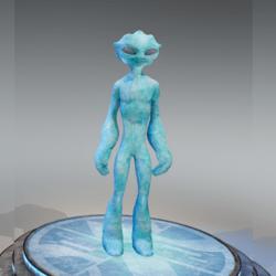 DNAelite Blue Alien