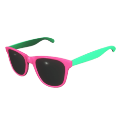 Sunglasses Pink Green - Female
