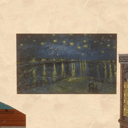 Art - Starry Night Over The Rhone 1888 Van Gogh
