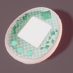 Tamagotchi Sp green
