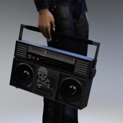Slatanic Mechanic boombox
