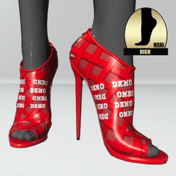 Heart shoes for h2ai high -  demo