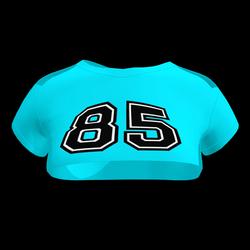 Sexy 85 Crop Top (Sky Blue)