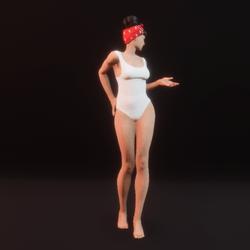 model pose 10 (static)
