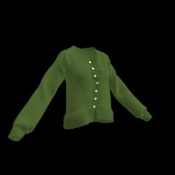 Devonshire Cardigan (Army Green)