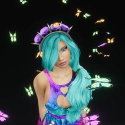 Fluttering Butterfly Friends (Glowing)