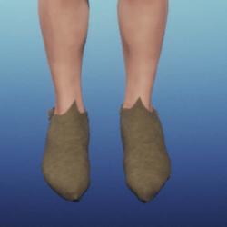 Men's Medieval Peasant Shoe