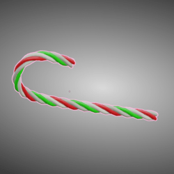 Puppeh's Candy Cane
