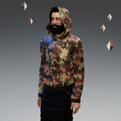 Swiss Alpenflage Camouflage Hoodie
