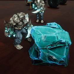 Crystal stone (rock)