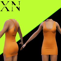Vestido Curto Sexy XN