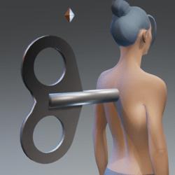 Clockwork Key steel